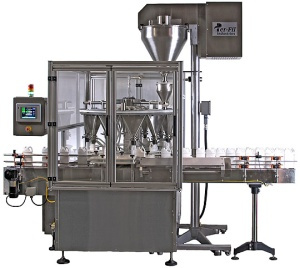 Automatic Auger Filler | Rotary Continuous Motion | MF-11-RCM