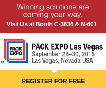 Register for PACK EXPO for FREE using COMP CODE 57D86